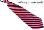 Elegancki satynowy krawat damski