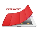 SMART COVER (zamiennik) do iPad2 3 4- czerwony