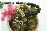 Bransoletka z perłami - kokarda